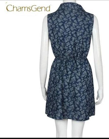Vestido de algodão ñ amarrota - Foto 4
