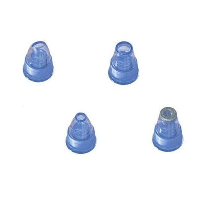 Dermasuction remove cravos e espinhas à vácuo rápido e fácil com 3 modos - Foto 6