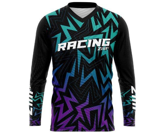 Camisa de motocross trilha personalizada - Foto 4
