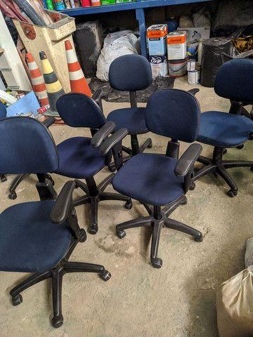Cadeira Giratória Escritório Usada Possuímos Várias