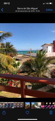 Casa Barra de S Miguel 4 quartos piscina 50Ms do mar Barramar e internet - Foto 18