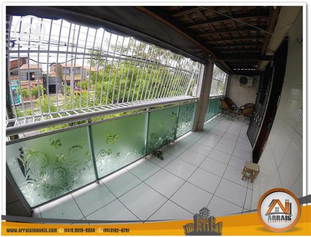 Casa com 3 dormitórios à venda, 100 m² por R$ 350.000,00 - Benfica - Fortaleza/CE - Foto 13