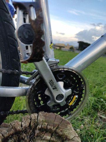 Vendo ou Troco Bike Fischer - Foto 3