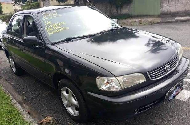 Corolla xei 1.8, gasolina, câmbio automático, completo, ano 2002/2002