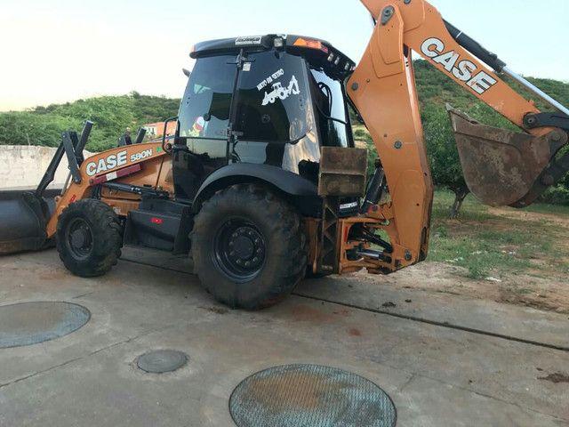 Retroescavadeira Case 580N ano 2019 - Foto 4