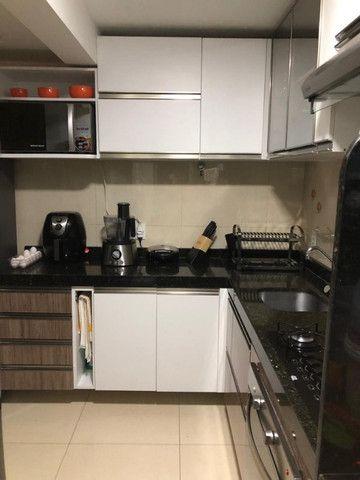 Apartamento todo mobiliado no Condomínio Soberano V Nascente (sombra) 2 Vagas Lazer Comp - Foto 7