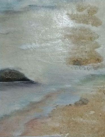 Tela: Praia do Forte - Pintura Óleo
