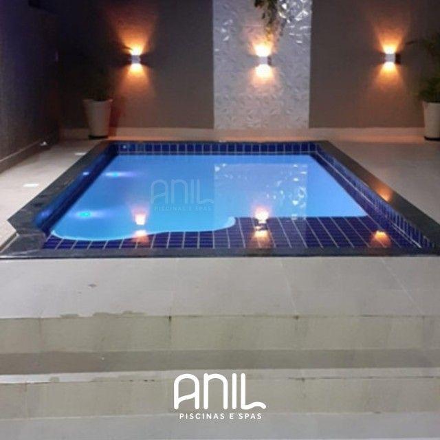 JA - Promoção piscina nova! Piscina de fibra 4 metros - Foto 2