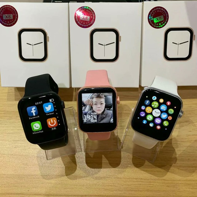 Smart watch iwo x8, totalmente original, temos as 3 cores disponíveis.