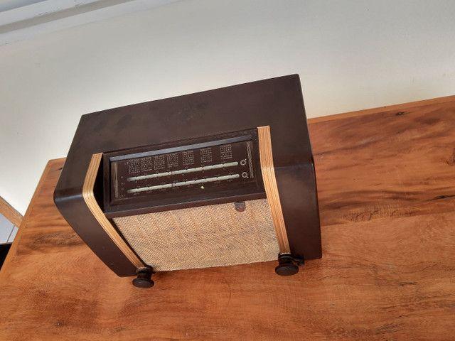 Rádio Philips antigo valvulado - Foto 6