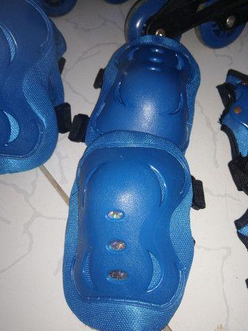 Vendo esse patins com o kit completo - Foto 2