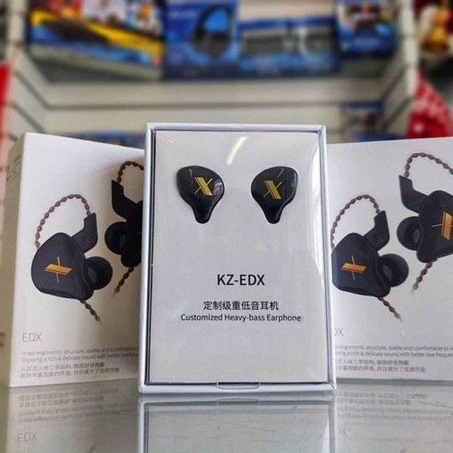 Fone Kz Edx Profissional para Retorno de Palco/Qualidade Musical/Perfeição Sonora