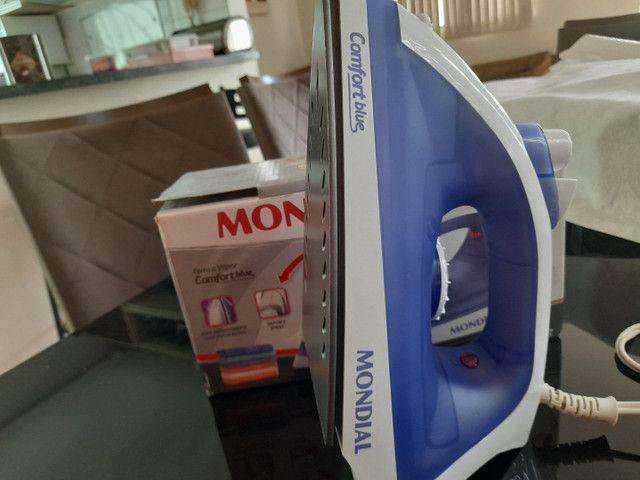 Ferro a vapor comfort blue 1 mês de garantia - Foto 3