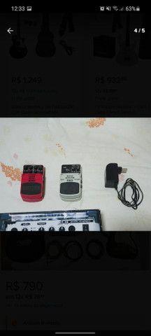 Guitarra Condor completa com amplificador - Foto 4