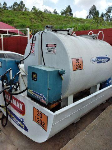 Tanque de combustível 5.000 litros com 2 bombas