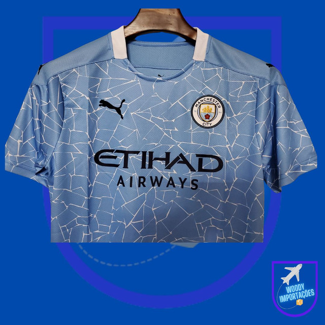 Camisa Manchester City 20/21 - Foto 3