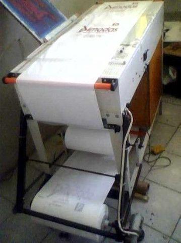 Máquina de sacola Automática sensor foto célula/silk-screen semi auto sensor foto elétrico - Foto 2