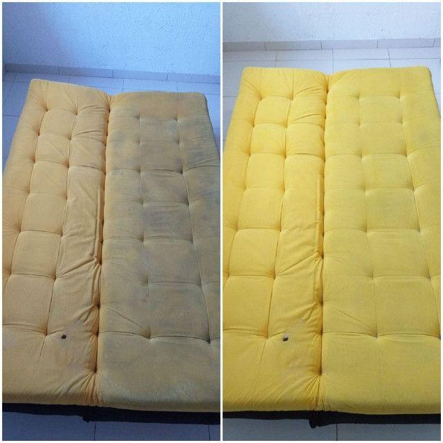 Lavação e higienização de sofás e colchões - Foto 6