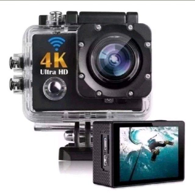Câmera filmadora Wifi 4k ultra HD 16 a prova d'água