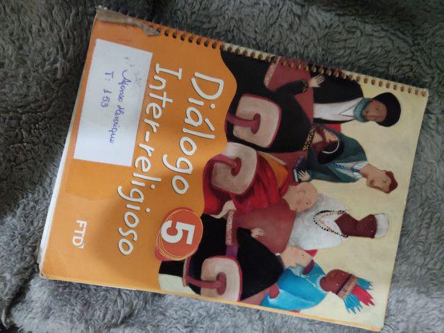 Livro Diálogo inter religioso 5 ano
