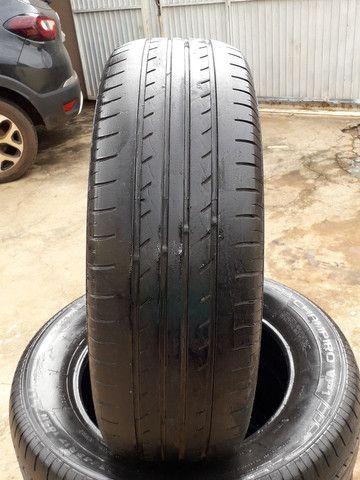 Vendo pneus aro 17 semi novos