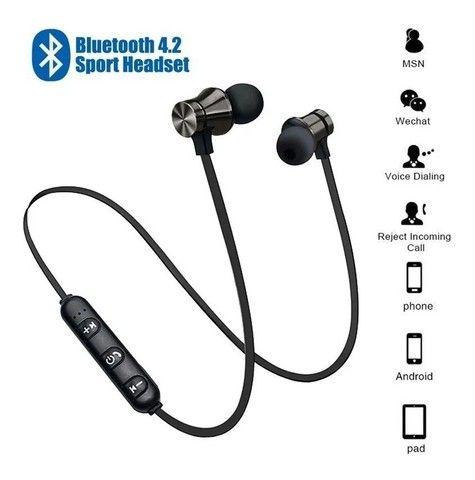 Vendo fones de ouvido Bluetooth NOVOS - Foto 4