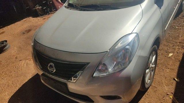 Sucata Nissan Versa 2013 Revisado Para Retirada Para Peças - Foto 11