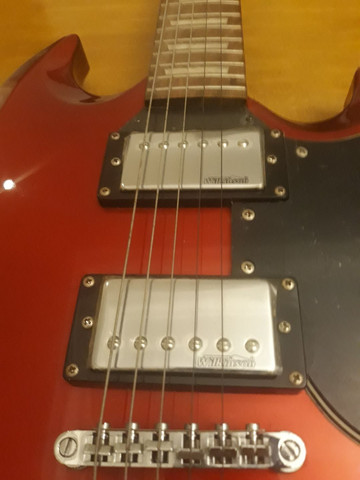 Guitarra SG Triumph nova( braço colado) - Foto 5