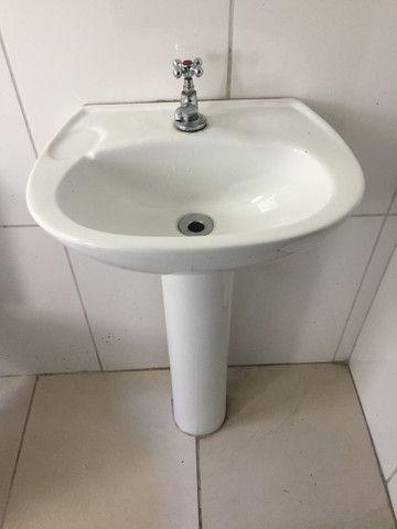 Pia lavatório com coluna ICASA