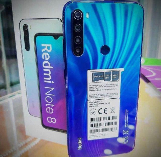 Perfeito SmartPhone com melhor custo benefício - Lindo Xioami Redmi Note 8 original - Foto 3