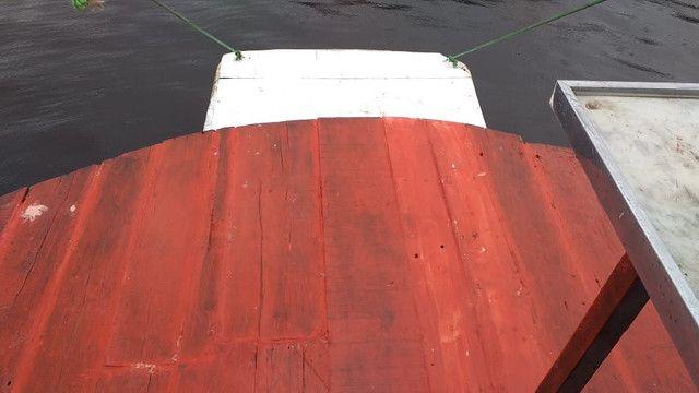 Vendo ou troco esse barco ele está sem máquina  - Foto 3