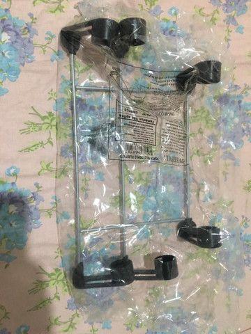 Suporte de Papel Toalha Alumínio Lacrado - Foto 3