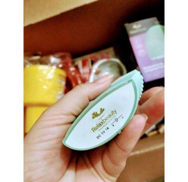 Esponja de limpeza Facial Relaxbeauty/Alfa .(produto novo na caixa) - Foto 3
