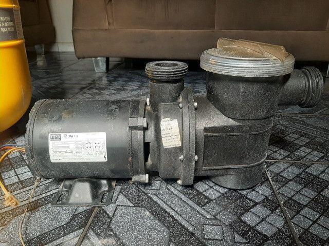 Filtro Pentair F28-R com Motobomba 1/4CV 127V/220V - Foto 4