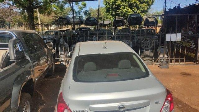 Sucata Nissan Versa 2013 Sucataria Com Garantia Para Peças - Foto 20