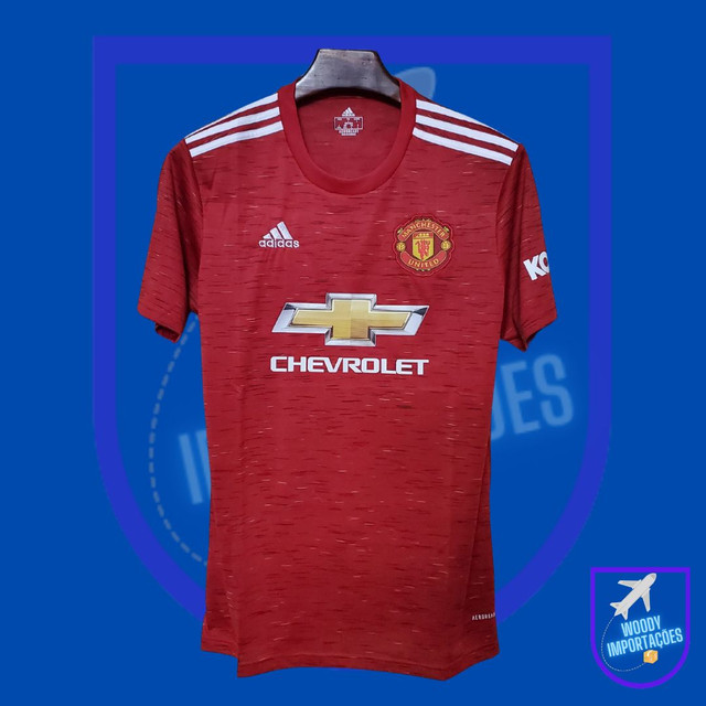 Camisa I Manchester United 20/21