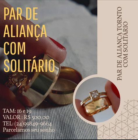 ALIANÇA TORNTO COM SOLITÁRIO