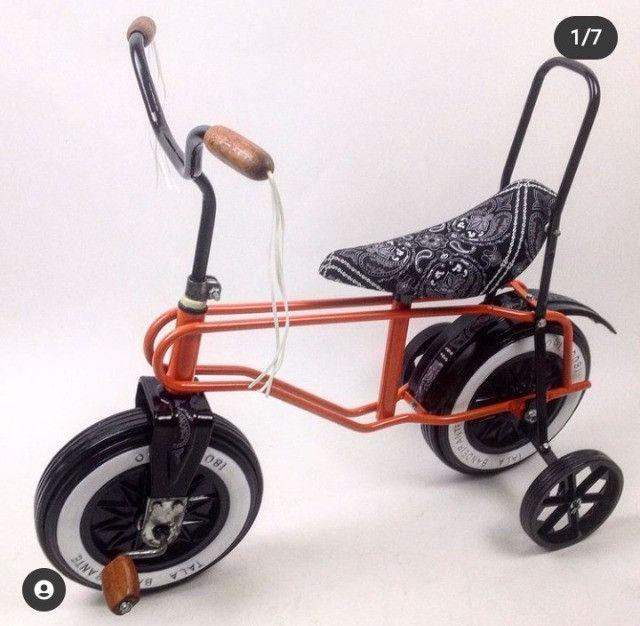 Rara bicicleta infantil Bandeirante roda plástica - Foto 5