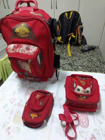 Mochila escolar kit c 3 peças  - Foto 5