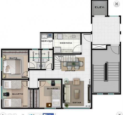 Cobertura à venda com 3 dormitórios em Buritis, Belo horizonte cod:2073 - Foto 2