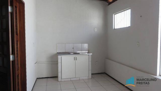 Casa com 2 dormitórios para alugar, 130 m² por R$ 1.109/mês - Quintino Cunha - Fortaleza/C - Foto 3