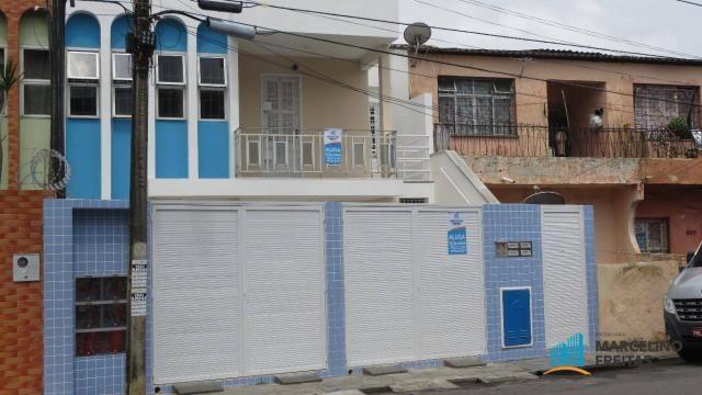 Casa com 1 dormitório para alugar, 38 m² por R$ 609,00/mês - Álvaro Weyne - Fortaleza/CE
