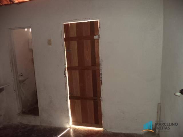Casa com 1 dormitório para alugar, 30 m² por R$ 259,00/mês - Cristo Redentor - Fortaleza/C - Foto 5