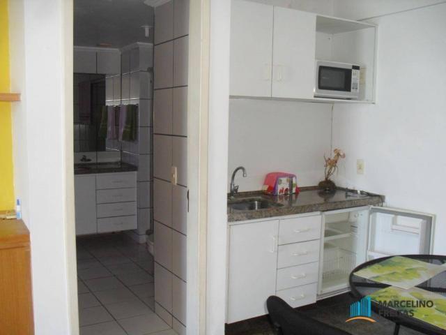 Flat residencial para locação, Mucuripe, Fortaleza. - Foto 15