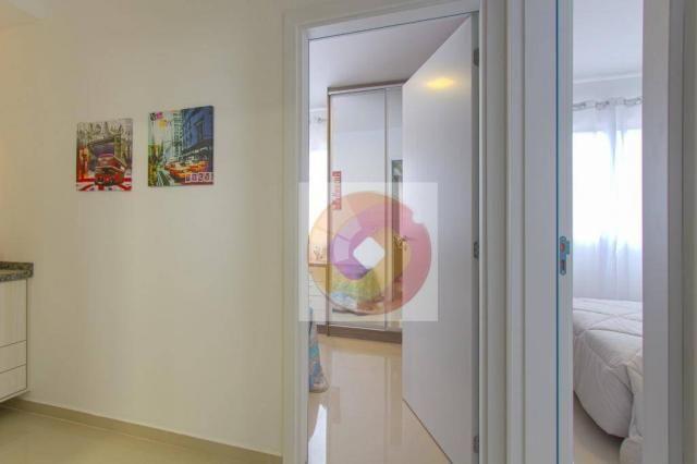 Apartamento com 2 dormitórios à venda, 52 m² por R$ 173.500 - Cidade Industrial - Curitiba - Foto 14