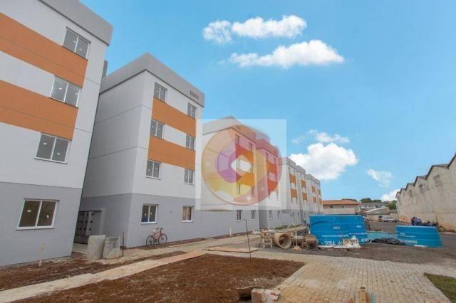 Apartamento com 2 dormitórios à venda, 52 m² por R$ 173.500 - Cidade Industrial - Curitiba - Foto 3