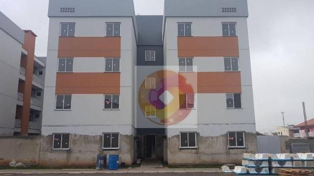 Apartamento com 2 dormitórios à venda, 52 m² por R$ 173.500 - Cidade Industrial - Curitiba - Foto 6