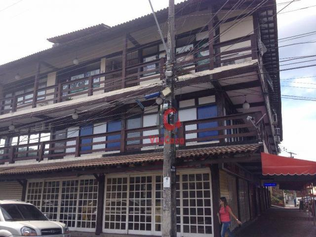 Sala Comercial à venda no Centro - Rio das Ostras, 22 m² por R$ 60 mil
