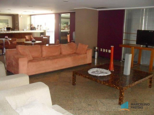Flat residencial para locação, Mucuripe, Fortaleza. - Foto 9