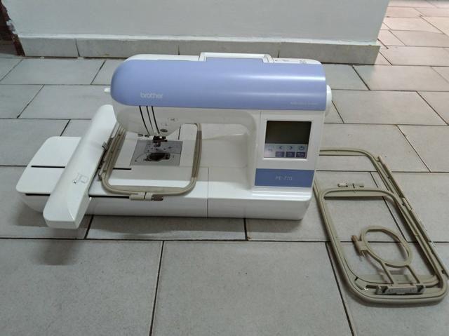 Máquina de bordado brother pe770 - Foto 4